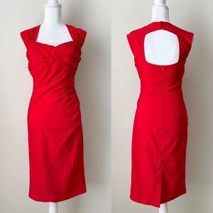 NWT Bella Pogue Red dress